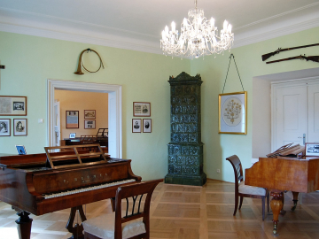 Zelený salón