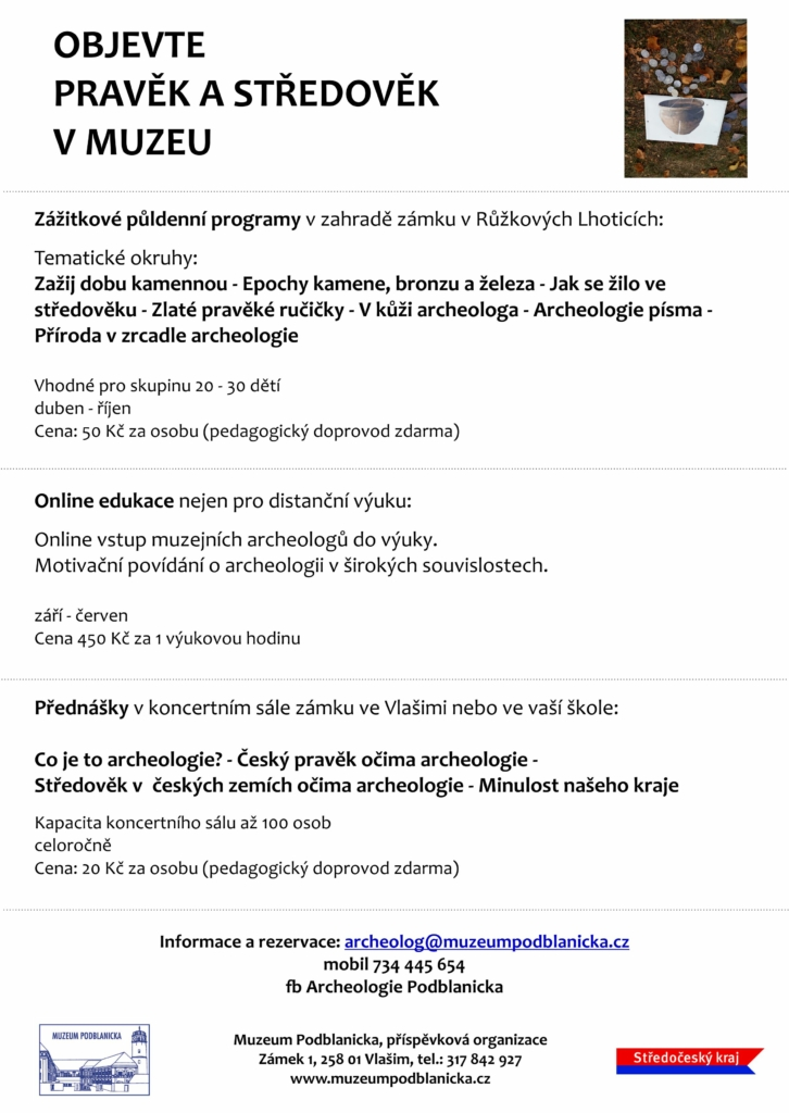 Popis archeologických programů
