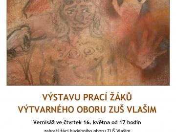 Výstava ZUŠ Vlašim