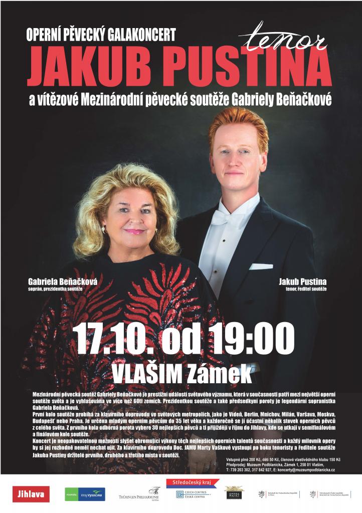 Koncert vítězů, Jakub Pustina
