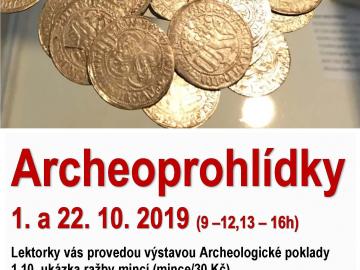 Komentované prohlídky archeo