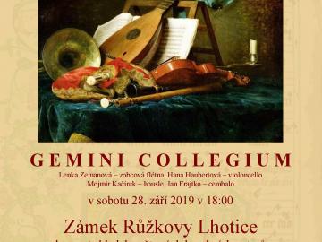 Gemini collegium, koncert