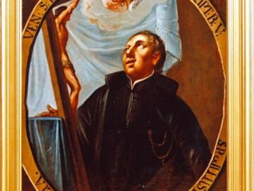 Obraz piaristy Ottonelliho po restaurování