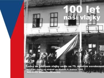 Vztyčení vlajky Vlašim