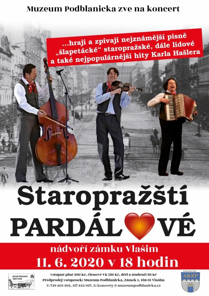 Staropražští pardálové - plakát